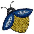 cute bee embroidery designs machine