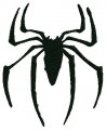 Spider Black Embroidery design