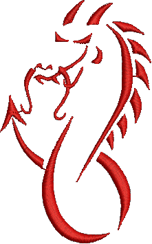 88bc4a184 Tribal dragon baby embroidery tattoo designs. Dragon embroidery designs  downloading fantasy embroidery
