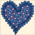 Valentine Embroidery designs-Embroiderydesigns.name