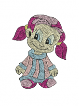 girl brother free embroidery designs