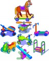 Kids Toys embroidery Designs