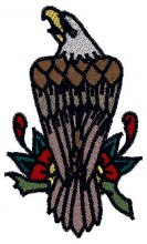 American Tatoo Embroidery Design