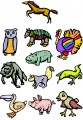 Animals Embroidery designs-Embroiderydesigns.name
