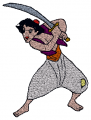 Aladdin Baby Embroidery designs-Embroiderydesigns.name