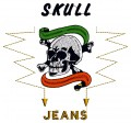 Skull Jeans Design-imaginary trademark