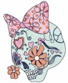 Skull embroidery designs embroidery pattern