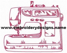 redwork sewing machine download embroidery design pes