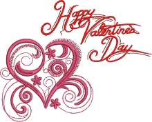 valentine day embroidery designs for brother