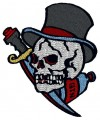 skull pirate tattoo brother embroidery designs