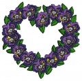 heart of flowers download free embroidery designs