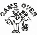 game over embroidery patterns to download