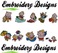 Summer time Machine embroidery Designs