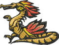 Dragons jef gran free embroidery designs freebies