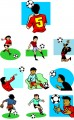 Soccer  Embroidery designs-Embroiderydesigns.name