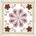 Crazy quilt embroidery Machine-Embroidery Design
