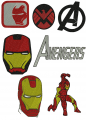 The Avengers embroidery designs