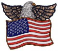 american eagle patch tattoo tribal brother embroidery designs