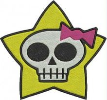 star skull kitty brother embroidery designs