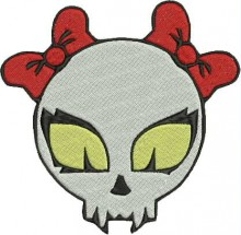 vampire skull kitty free embroidery designs to download