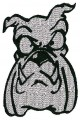 Funny Cartoon Dog Face Embroidery designs-Embroiderydesigns.name