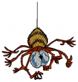 Cute Spider Baby Embroidery designs-Embroiderydesigns.name