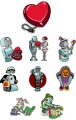 Robot World  Embroidery Designs