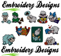 Sheeps Machine embroidery Designs