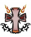Tribal face embroidery designs embroidery pattern