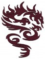 chinese tribal dragon brother free embroidery designs