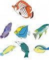 Tropical Fish Embroidery designs-Embroiderydesigns.name