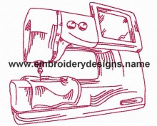 redwork sewing machine embroidery designs for brother