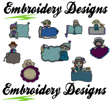 Poster Machine embroidery Designs
