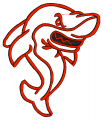 Red Shark Embroidery designs-Embroiderydesigns.name