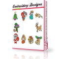 Christmas time Machine embroidery Designs