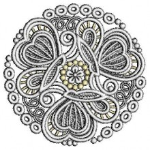 Free standing lace embroidery designs Lace Embroidery Design