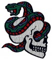 Skull Tatoo Embroidery Design