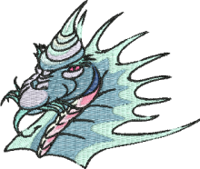 Dragons just for fun brother embroidery designs